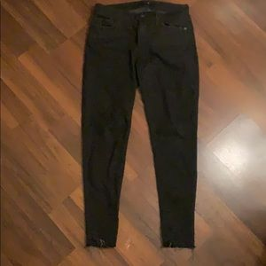 Joe's Jeans Black Skinny Jeans